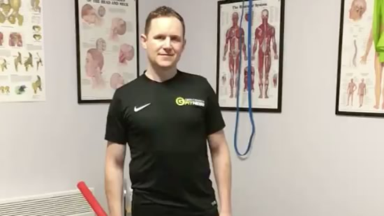 Paddy Cummins Mulhuddart Physio